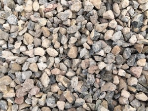 "3/4"" Crushed Gray Gravel"