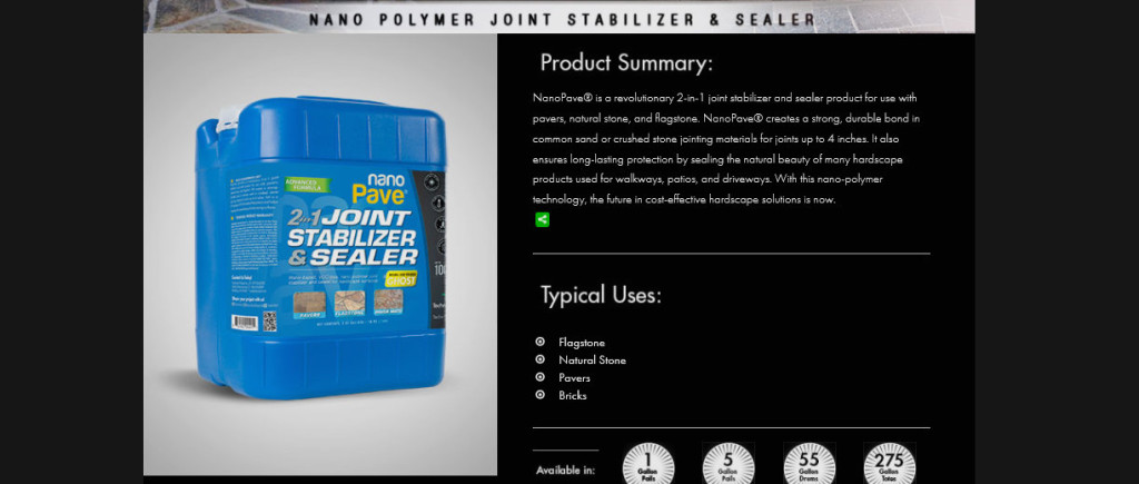 Joint Stabiliser and Sealer