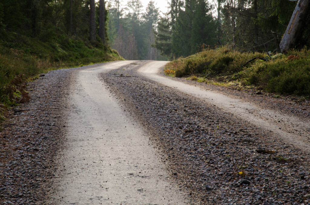 Gravel Road At The Top Of A Hill Albert Montano Sand And