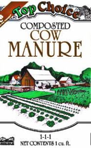 Top Choice Composted Cow Manure - Albert Montano Sand and Gravel