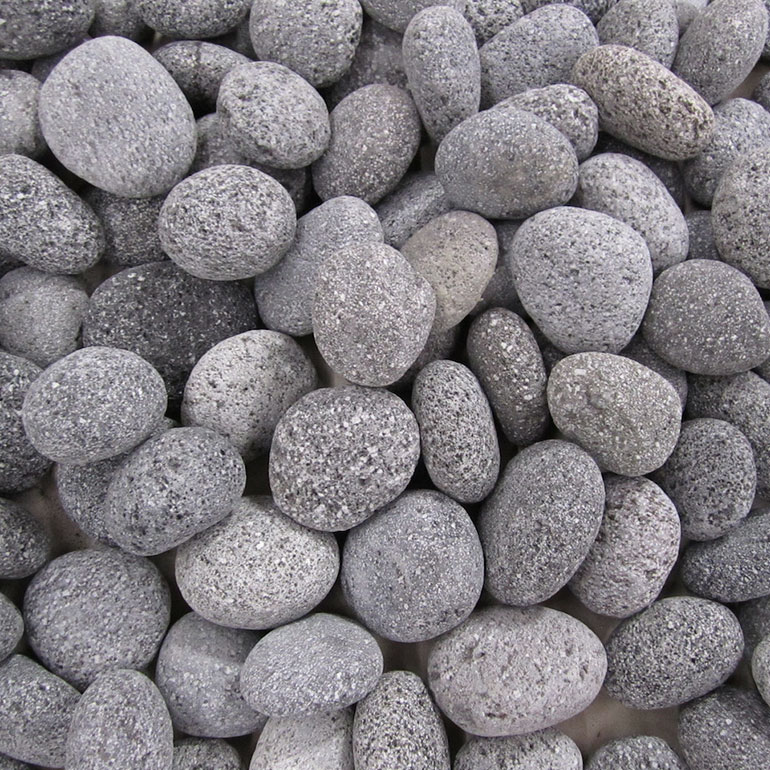 <br>Black Lava Pebbles</br>
